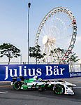 Lucas di Grassi of Brazil from Audi Sport ABT Schaeffler competes during the FIA Formula E Hong Kong E-Prix Round 2 at the Central Harbourfront Circuit on 03 December 2017 in Hong Kong, Hong Kong. Photo by Marcio Rodrigo Machado / Power Sport Images