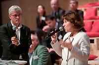 Sylvie ROBERT - Vice presidente de Rennes-Metropole deleguee a la culture, l'architecture et les grands projets, et Xavier DEBONTRIDE