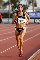 Sara Hall ran 16:33.62 in the 5000m run at the Adidas Track Classic 2009, held at the Home Depot Center, Carson, Ca. on Saturday, May 16, 2009. Photo by Errol Anderson,The Sporting Image.net