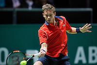 Februari 11, 2015, Netherlands, Rotterdam, Ahoy, ABN AMRO World Tennis Tournament, Nicolas Mahut (FRA)<br /> Photo: Tennisimages/Henk Koster
