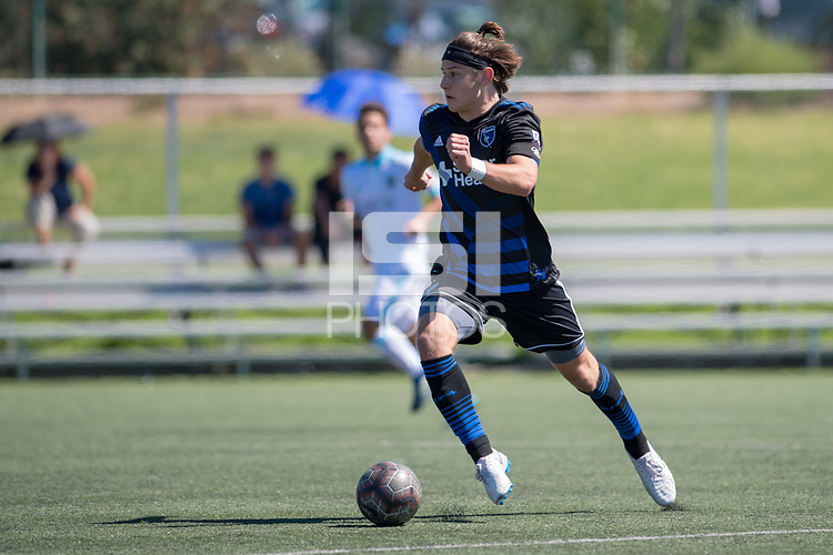 Earthquakes Boys Academy U19 won 2-1 versus Seattle Sounders; Evergreen Valley College, September 23, 2018.