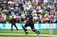 Blackcaps Ross Taylor during the 4th ODI Blackcaps v England. University Oval, Dunedin, New Zealand. Wednesday 7 March 2018. ©Copyright Photo: Chris Symes / www.photosport.nz