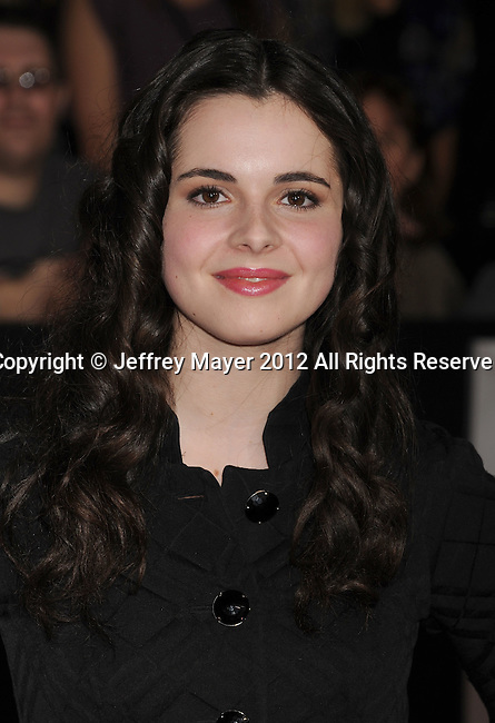 LOS ANGELES, CA - FEBRUARY 22: Vanessa Marano attends the 'John Carter' Los Angeles premiere held at the Regal Cinemas L.A. Live on February 22, 2012 in Los Angeles, California.