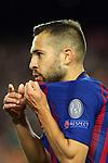 UEFA Champions League 2018/2019 - Matchday 3.<br /> FC Barcelona vs FC Internazionale Milano: 2-0.<br /> Jordi Alba.