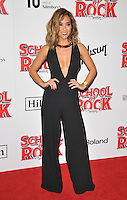 Myleene Klass at the &quot;School of Rock: The Musical&quot; VIP opening night, New London Theatre, Drury Lanes, London, England, UK, on Monday 14 November 2016. <br /> CAP/CAN<br /> &copy;CAN/Capital Pictures /MediaPunch ***NORTH AND SOUTH AMERICAS ONLY***