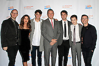 LOS ANGELES - DEC 3: Peter Paige, Maia Mitchell, Noah Centineo, Keith McNutt, David Lambert, Hayden Byerly, Bradley Bredeweg at the The Actors Fund's Looking Ahead Awards at the Taglyan Complex on December 3, 2014 in Los Angeles, California