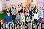 Martin Sweeney from Racecourse Heights Tralee celebrating his 30th birthday with family and friends at the Greyhound Bar on Saturday