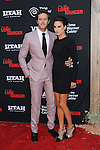 """Armie Hammer and wife Elizabeth chambers arriving to the World Premiere of """"The Lone Ranger"""" held at Disney California Adventure Park on June 22, 2013."""