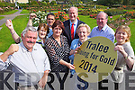 Tralee Tidy Towns are celebrating gaining another gold Medal announced at this years national competition in Dublin on Monday. Pictured were: Sean Lyons, Kit Ryan, Anne Connelly, Brendan Murphy (Litter Warden), Jim Finucane (Mayor of Tralee), Mary O'Brien, John Griffin and Josephine Griffin.