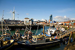 Fishing boats, The Camber, Old Portsmouth,  Hampshire, England