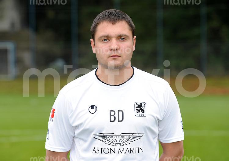 2. Fussball Bundesliga:  Saison   2011/2012 Portrait Termin beim TSV 1860 Muenchen  17.10.2011 Co Trainer Denis Bushuev  (1860 Muenchen)
