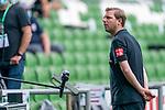 Florian Kohfeldt (Trainer SV Werder Bremen) beim INterview<br /> <br /> <br /> Sport: nphgm001: Fussball: 1. Bundesliga: Saison 19/20: 34. Spieltag: SV Werder Bremen vs 1.FC Koeln  27.06.2020<br /> <br /> Foto: gumzmedia/nordphoto/POOL <br /> <br /> DFL regulations prohibit any use of photographs as image sequences and/or quasi-video.<br /> EDITORIAL USE ONLY<br /> National and international News-Agencies OUT.