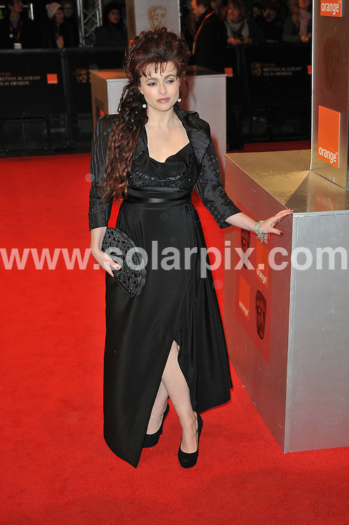 **ALL ROUND PICTURES FROM SOLARPIX.COM**                                             **WORLDWIDE SYNDICATION RIGHTS**                                                                                  Arrivals to the Orange British Academy Film Awards held at The Royal Opera House, London, UK. February 13, 2011                                                                            .This pic:      Helena Bonham Carter                                                                                            JOB REF:    12796    MSR       DATE:    13.02.11                                                        **MUST CREDIT SOLARPIX.COM OR DOUBLE FEE WILL BE CHARGED**                                                                      **MUST AGREE FEE BEFORE ONLINE USAGE**                               **CALL US ON: +34 952 811 768 or LOW RATE FROM UK 0844 617 7637**