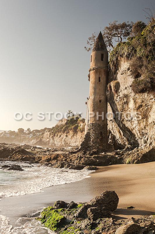 Victoria Tower at Victoria Beach in Laguna Beach California