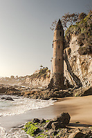 Victoria Tower at Victoria Beach in Laguna Beach California