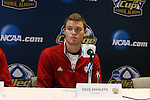 08 December 2012: Indiana's Eriq Zavaleta. The Indiana University Hoosiers held a press conference at Regions Park Stadium in Hoover, Alabama one day before playing in the 2012 NCAA Division I Men's Soccer College Cup championship game.