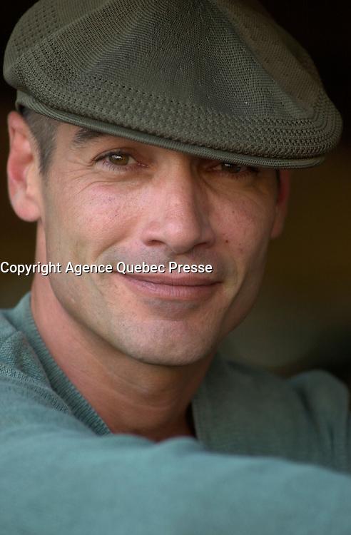 Jean-Marc Barre<br /> at the 2002 World Film Festival -<br /> au Festival des Films du Monde 2002