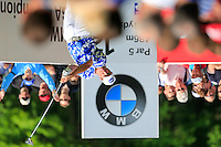 Scott Hend (AUS) on the 12th during round 3 of the 2016 BMW PGA Championship. Wentworth Golf Club, Virginia Water, Surrey, UK. 28/05/2016.<br /> Picture Fran Caffrey / Golffile.ie<br /> <br /> All photo usage must carry mandatory copyright credit (© Golffile   Fran Caffrey)