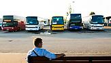 Ukrainer in Warschau/Polen: Warschauer Busbahnhof. / Foto: Paul Henschel