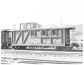 Reconstruction of C&amp;TS caboose #05635.  Built from stock car in 1976.<br /> C&amp;TS  Chama, NM  Taken by Payne, Andy M. - 11/11/1976