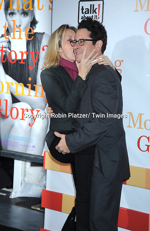 "Ali Wentworth and JJ Abrams attending the World Premiere of "" Morning Glory"" starring Harrison Ford, Diane Keaton and Rachel McAdams on November 7, 2010 at The Ziegfeld Theatre in New York City."