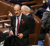 United States Representative Eliot Engel (Democrat of New York) awaits the arrival of U.S. President Donald J. Trump to address a joint session of Congress on Capitol Hill in Washington, DC, February 28, 2017. <br /> Credit: Chris Kleponis / CNP