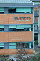 The Hermes Customer Contact Centre in the outskirts of Leeds, England, UK. Wednesday 13 February 2019
