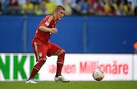 FUSSBALL   1. BUNDESLIGA   SAISON 2012/2013   LIGA TOTAL CUP  FC Bayern Muenchen - SV Werder Bremen       04.08.2012 Bastian Schweinsteiger (FC Bayern Muenchen)  Einzelaktion am Ball