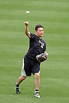 Masahiro Tanaka (Yankees),<br /> AUGUST 11, 2014 - MLB : Japan's pitcher Masahiro Tanaka of the New York Yankees throws a ball before the Major League Baseball game against the Baltimore Orioles at Oriole Park at Camden Yards in Baltimore, Maryland, USA.<br /> (Photo by AFLO)