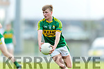 Fiachra Clifford Kerry in action against Clare in the Munster Minor Quarter Final at Austin Stack Park Tralee on Wednesday night.