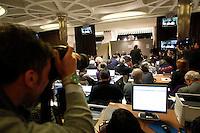 ROMA 13/03/2013 .CONFERENZA STAMPA PADRE LOMBARDI. FOTO CIRO DE LUCA