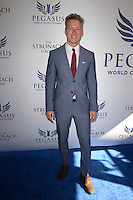 www.acepixs.com<br /> <br /> January 28 2017, Hallandale, FL<br /> <br /> Patrick M. Knapp Schwarzenegger arriving at the Pegasus World Cup at Gulfstream Park on January 28, 2017 in Hallandale, Florida.<br /> <br /> By Line: Solar/ACE Pictures<br /> <br /> ACE Pictures Inc<br /> Tel: 6467670430<br /> Email: info@acepixs.com<br /> www.acepixs.com