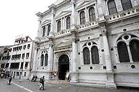 L'esterno della Scuola Grande di San Rocco a Venezia.<br /> Exterior of the Scuola Grande di San Rocco in Venice.<br /> UPDATE IMAGES PRESS/Riccardo De Luca