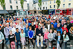 Tralee Square Remembrance for Manchester Victims by the Tralee International Resource Centre and Kerry Diocesan Peace committee on Monday