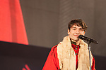 2018/11/30 Makuhari Chiba,the Tokyo Comic-con started at Makuhari Messe for 3 Days until Sunday.<br /> Ezra Miller<br /> (Photos by Michael Steinebach / AFLO)