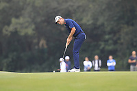 Justin Rose (ENG) on the 15th green during Round 3 of the UBS Hong Kong Open, at Hong Kong golf club, Fanling, Hong Kong. 25/11/2017<br /> Picture: Golffile | Thos Caffrey<br /> <br /> <br /> All photo usage must carry mandatory copyright credit     (© Golffile | Thos Caffrey)