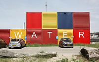 Nederland Amsterdam  2017. Amsterdam-Noord. Waterschap Amstel Gooi en Vecht. Waternet.  Foto Berlinda van Dam / Hollandse Hoogte