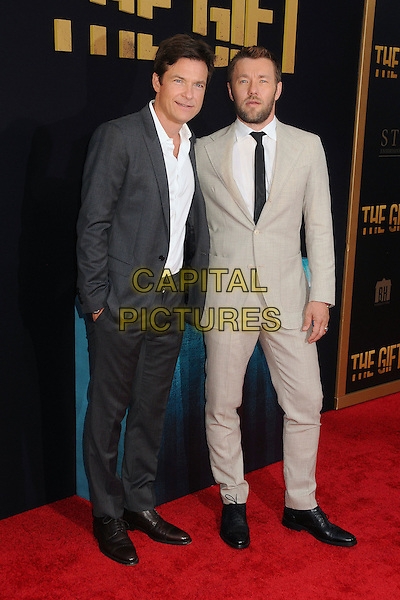 30 July 2015 - Los Angeles, California - Jason Bateman, Joel Edgerton. &quot;The Gift&quot; Los Angeles Premiere held at Regal Cinemas LA Live.  <br /> CAP/ADM/BP<br /> &copy;Byron Purvis/AdMedia/Capital Pictures