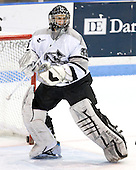 Tyler Sims (Providence 35) - The Boston College Eagles and Providence Friars played to a 2-2 tie on Saturday, March 1, 2008 at Schneider Arena in Providence, Rhode Island. Sims, senior goaltender for Providence, is a free agent and the son of former NHLer Al Sims.