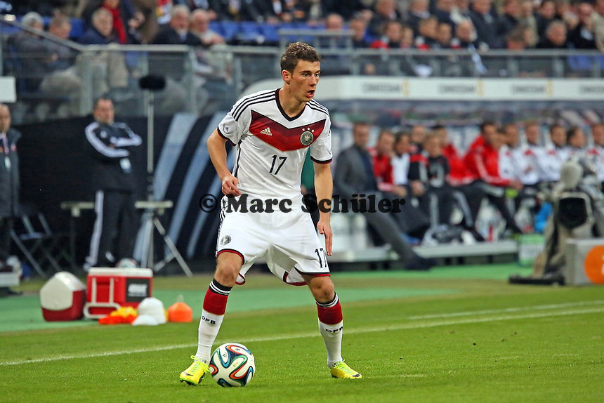 Leon Goretzka (D) - Deutschland vs. Polen, WM-Vorbereitung Testspiel, Imtech Arena Hamburg