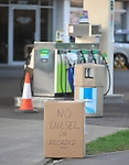 petrol pumps in bicester oxfordshire run dry as people panic buy