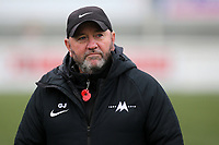 Torquay United Manager, Gary Johnson ahead of kick-off during Maidstone United vs Torquay United, Emirates FA Cup Football at the Gallagher Stadium on 9th November 2019
