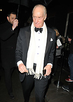 Charles Dance at the Dunhill &amp; Dylan Jones BAFTAs Filmmakers Dinner &amp; Party, Bourdon House, Davies Street, London, England, UK, on Wednesday 06th February 2019.<br /> CAP/CAN<br /> &copy;CAN/Capital Pictures