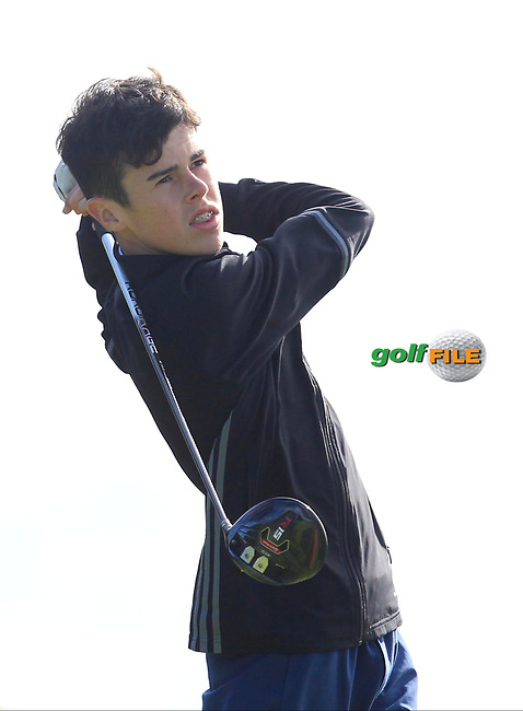 Mathew Burke (Ballinrobe) on the 2nd tee during the GOLFSTYLE Connacht Close Finals  at Loughrea Golf Club, Loughrea, Co Galway. 14/08/2017<br /> Picture: Golffile | Thos Caffrey<br /> <br /> All photo usage must carry mandatory copyright credit     (&copy; Golffile | Thos Caffrey)
