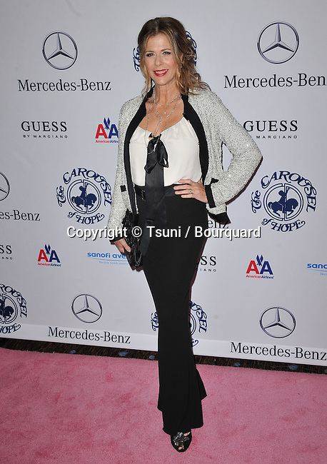 Rita Wilson   - Carousel Of Hope at the Beverly Hilton Hotel In Los Angeles.