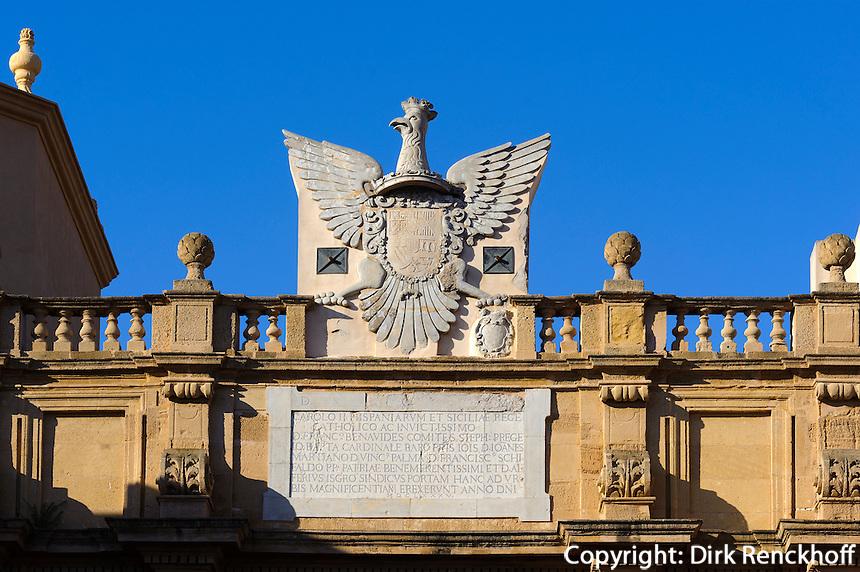 Porta Garibaldi in Marsala, Sizilien, Italien