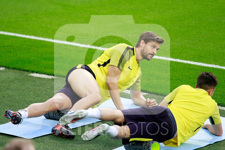 Tottenham Hotspur FC's Fernando Llorente during training session. October 16,2017.(ALTERPHOTOS/Acero)