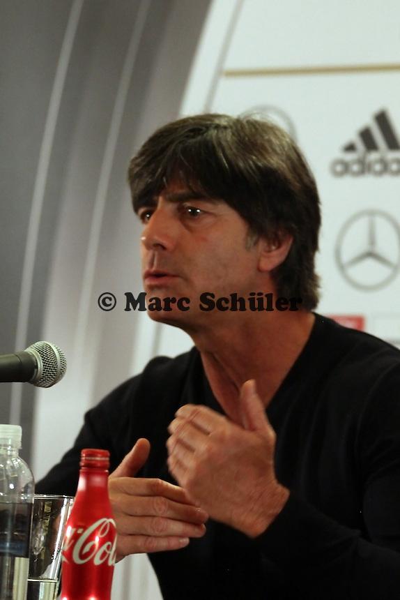 Bundestrainer Joachim Loew (D) - DFB-Abschlusspressekonferenz in Miami vor dem Spiel gegen Ecuador
