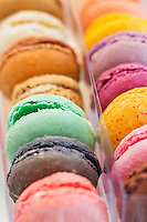Europe/France/Bretagne/35/Ille et Vilaine/Rennes: Les macarons de Philippe Bouvier dans sa nopuvelle boutique: Bouvier, place Toussaint