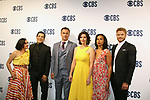 "Julian McMahon ""Ian Rain"" - Another World and now on CBS FBI Most Wanted with the cast - Keisha Castle-Hughes, Julian McMahon, Alana De La Garza, Roxy Sternberg, Kellan Lutz - CBS Upfront 2019 held in New York City at the Todd English Food Hall on May 15, 2019 with new fall shows  - FBI: Most Wanted. (Photo by Sue Coflin/Max Photos)"